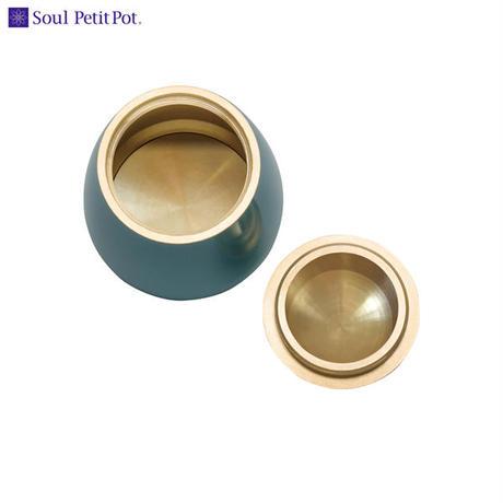MAO-SP-667 Soul PetitPot ソウル プチポット ミニ骨壷 パレットエッグ シルキーブルー