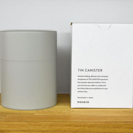 TIN CANISTER (Mサイズ)/MOHEIM