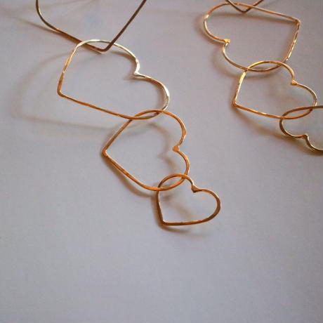 heart pierce gold