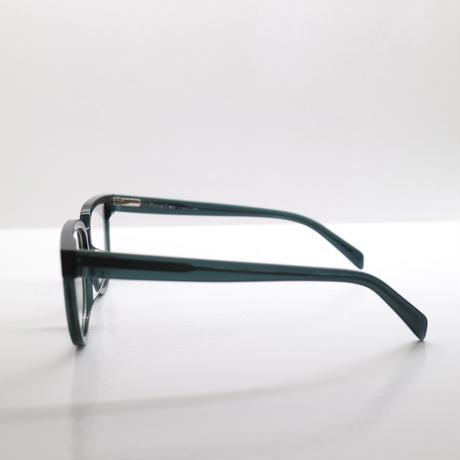 """Percy Lau"" deep green  glasses"