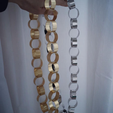 Big chain necklace  gold