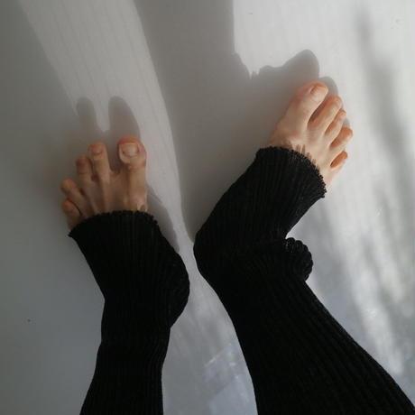 Rib tights black