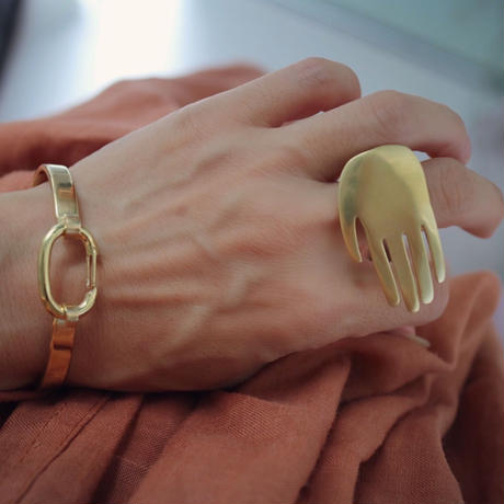 Miriam Ring  gold【8uede】