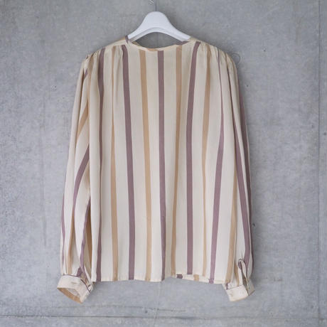 Silk striped blouse