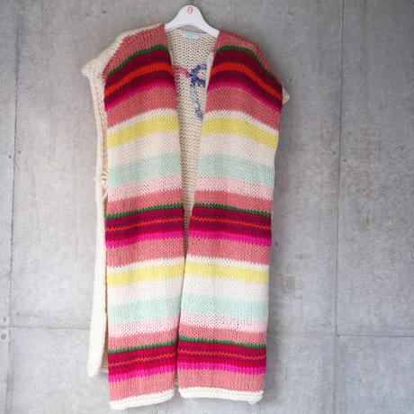 Miami Long Knit Vest