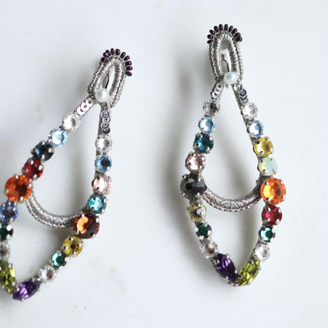 BIJOU collection  silver  earring