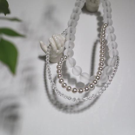 florian  necklace  white