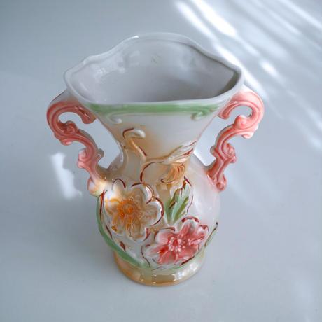 "Vintage flower vase""U"""
