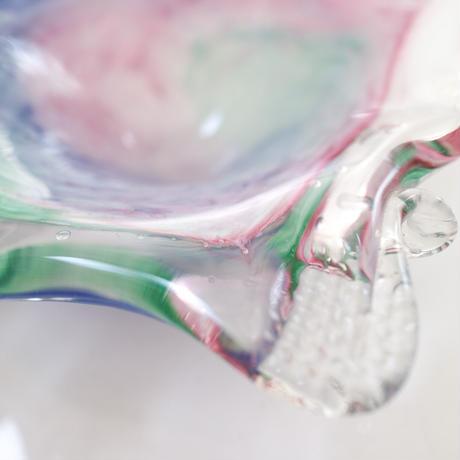 Vintage glass  mini bowl