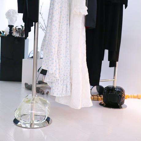Jewel stone clothes rack