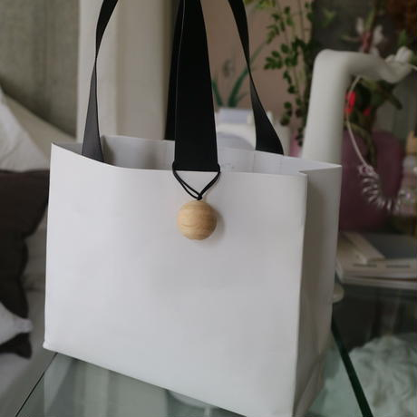 "Leather Paper Bag ""L""『UNKOWN PRODUCTS』"