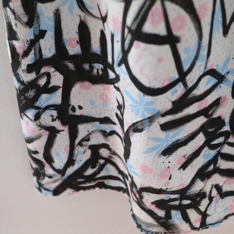"""VAVA DUDU"" Mini Dress / Black Paint"
