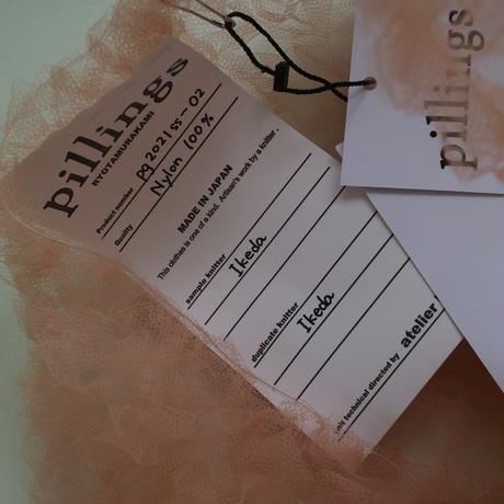 Pillings  Tulle knit