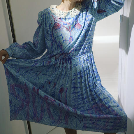 light blue girly dress