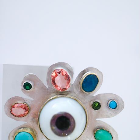 """JULIE WOLFE"" Eye Ring"
