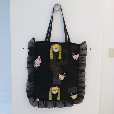 """Frill tulle tote""""jenny fax"""""""