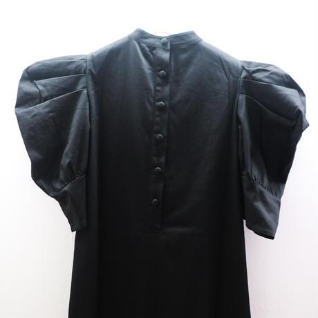 JOHN Black Mutton Sleeve Dress
