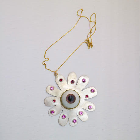 """""""JULIE WOLFE"""" Eye Flower Necklace"""