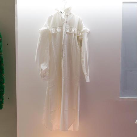 JOHN REGAL RUFFLES SHIRT DRESS