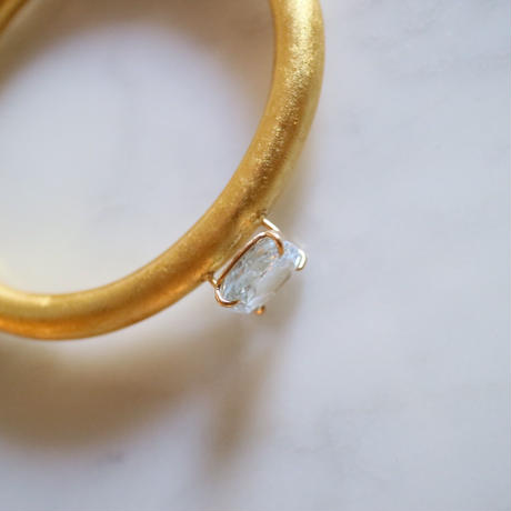 Aquamarine bangle