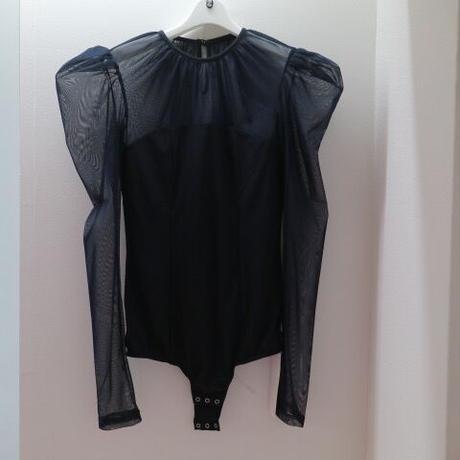 """FETICO"" Tulle combinaed body suit"