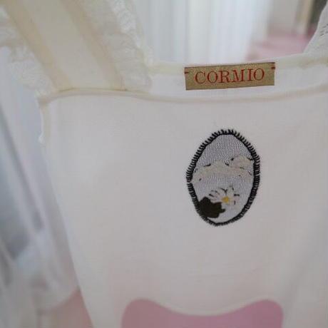 """""""CORMIO""""  BEATRIX MERINO TOP / White"""