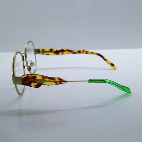 """Percy Lau""titanium nylon lens glasses(green)"