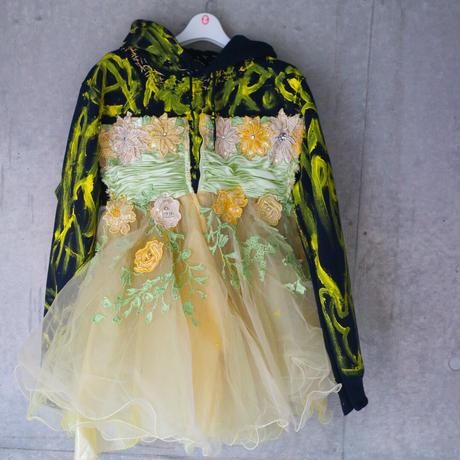 """Darl Navy  Hoodie Dress""""vava dudu"""""""