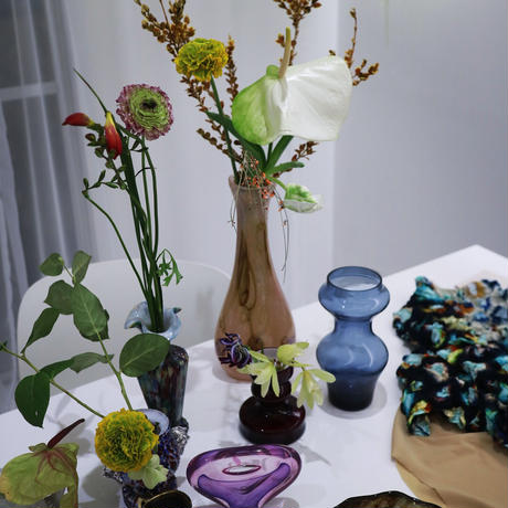 """vintage flower vase""""Y"""""""