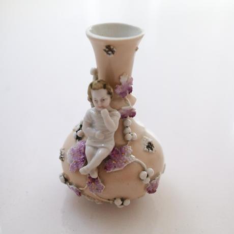 "Vintage ceramic vase""doll"""