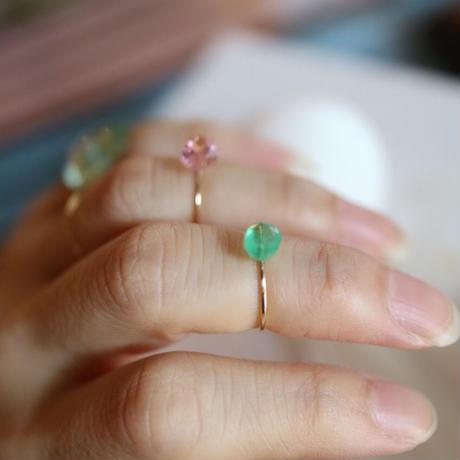 imago pinktourmaline ring