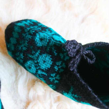Hand Knit Socks B