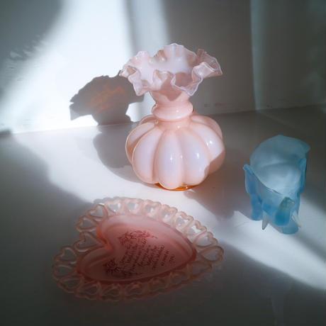 Vintage pink vase