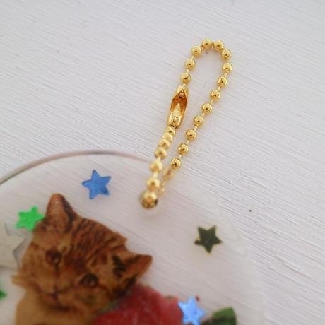 Key ring cat