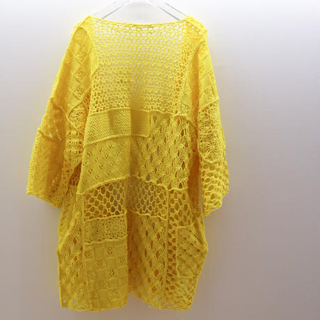 """PATCH WORK GOWN""""yellow""""【213 Libre Comme L'air】"""