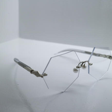 """Percy Lau"" Hexagon  lens glasses"