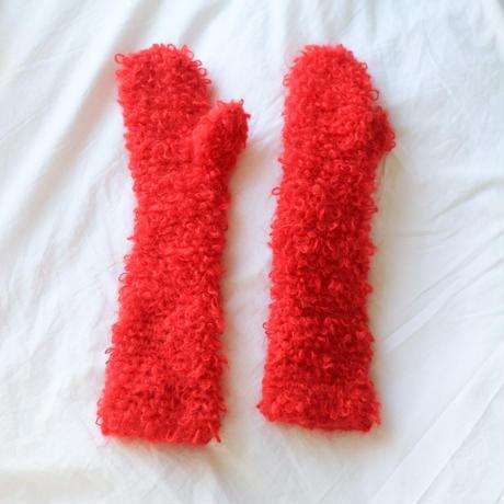 """""""MILOU"""" fluffy gloves"""