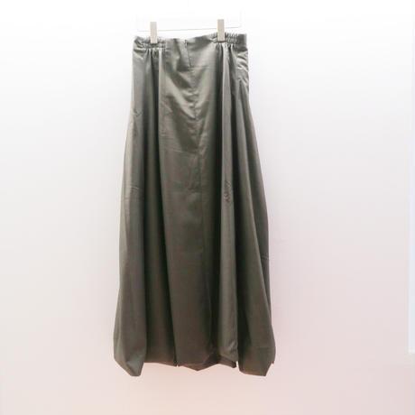 """JOHN"" Grey Strapless Pleated Dress"