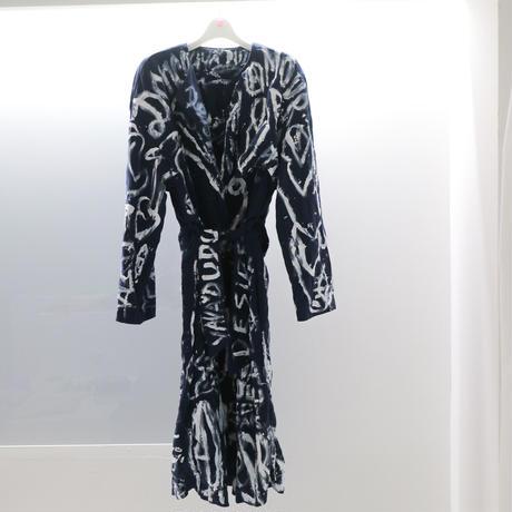 navy coat dress