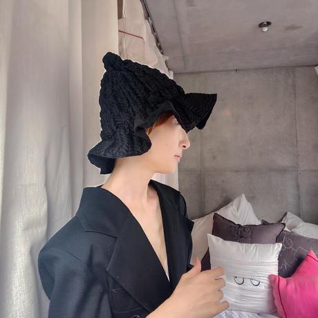 """Flower bell hat """"black"""""""