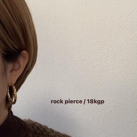 rock pierce / 18kgp