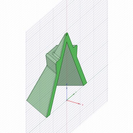 3Dデータ 六角盛り塩型(STL、OBJ、DXF)