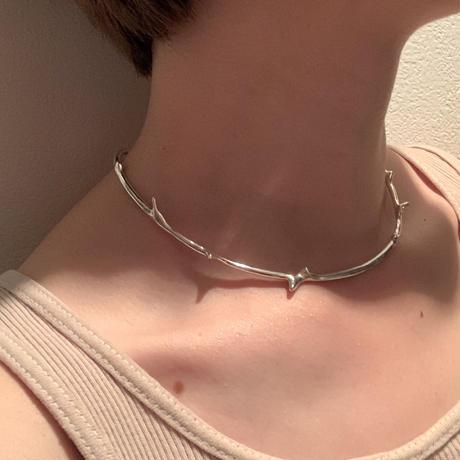 branch choker / silver925