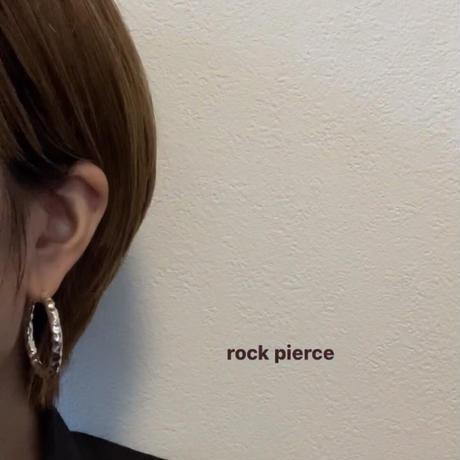 rock pierce / silver925