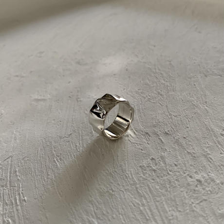 water surface ring / silver925