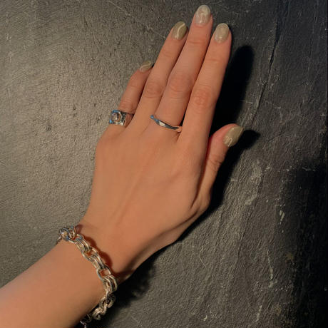 bamboo ring  / silver925