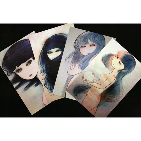れいみ オリジナルポストカード4枚セット!