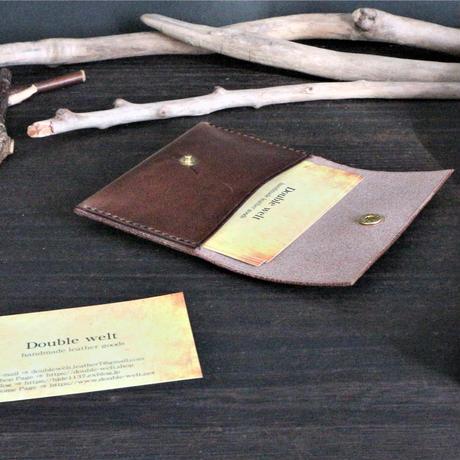マルチケース ※イタリアンレザー・ダグラス 革色ダークグレー・ブラウン