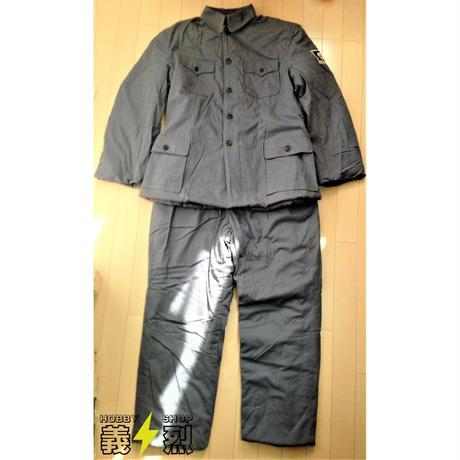 在庫処分特価!【複製品】WW2中国軍冬綿衣服上下セット・八路軍