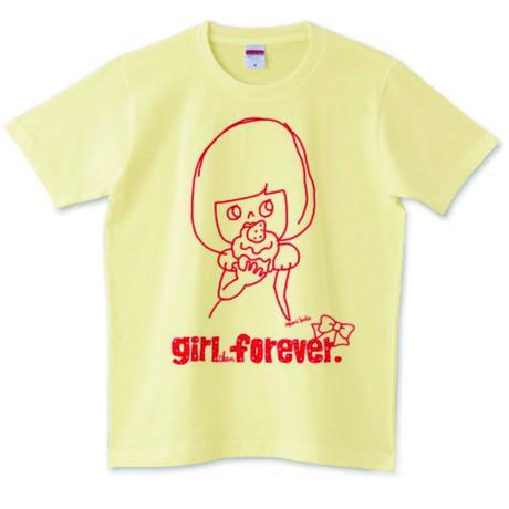 girlちゃんTシャツ(おやつの時間)